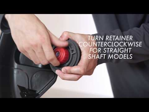 How To: Install a REEL-EASY Head on a Straight Shaft String Trimmer