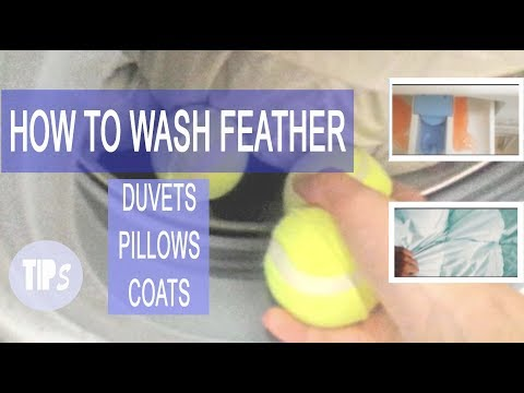 YEAR TIP: How to wash feather clothes: DUVET, PILLOWS, COATS...