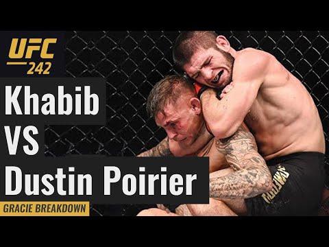UFC 242 Khabib Nurmagomedov vs. Dustin Poirier (Full Fight Gracie Breakdown)