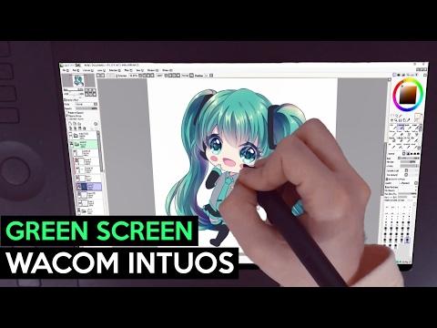 【PaintTool Sai】 Hatsune Miku Chibi - Drawing Process