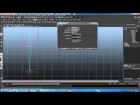 Autodesk maya tutorial minecraft character modeling rigging part 5