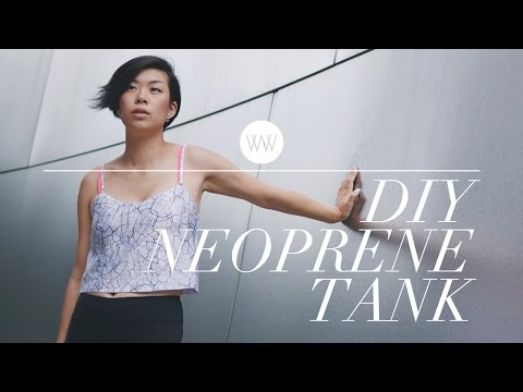 How to Make a Neoprene Tank Top | WITHWENDY
