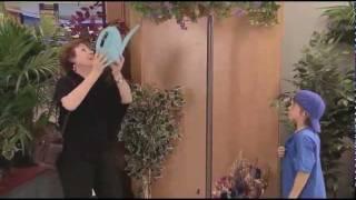 Watering The Suspended Plant - سقي النباتات المعلقة