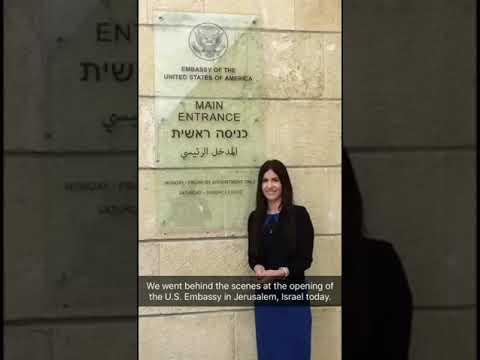 U.S. Embassy in Jerusalem, Israel Dedication Ceremony