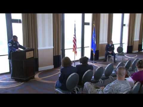 AF Retirement Ceremony for Senior Master Sergeant David