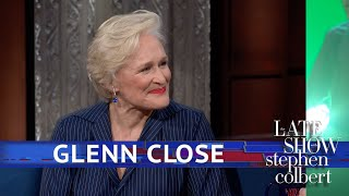Glenn Close And Stephen Act Without Words