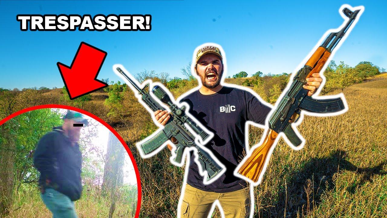 I Caught TRESPASSERS at My FARM!!! (Trail Cam FOOTAGE!)
