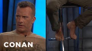 Thomas Jane Sports Bare Feet At #ConanCon  - CONAN on TBS
