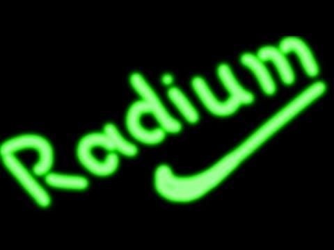 Photoshop tutorial-radium glow text effect