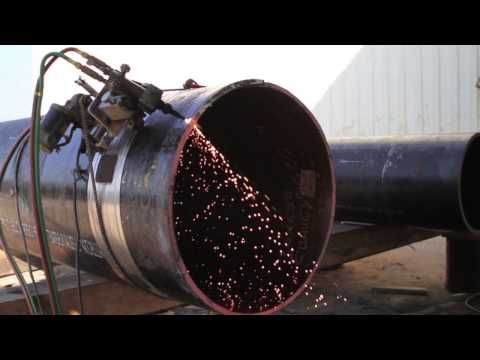 Torch beveling for steel pipe from APP