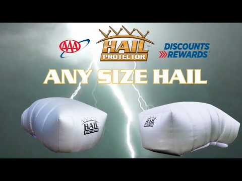 AAA Member Discount on The Portable Hail Protector System
