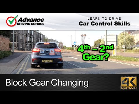 Block Gear Changing  |  Learning to drive: Car Control skills