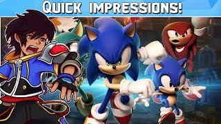 Quick Impressions - Sonic Forces
