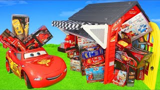 Cars Toys: Lightning Toy Vehicles, Ride on Car Play & Playhouse Surprise for Kids
