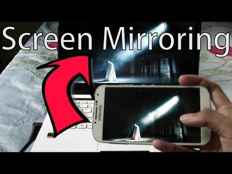Wireless Screen Mirroring From Phone To PC