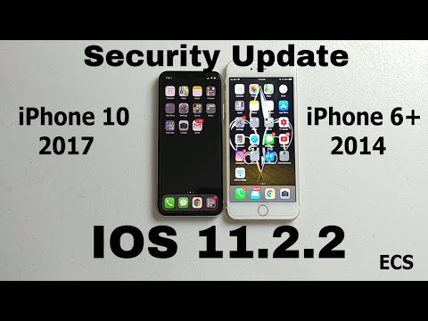 IOS 11.2.2 Update Security FIX 2018| DOWNLOAD NOW!!! | Latest iPhone Software