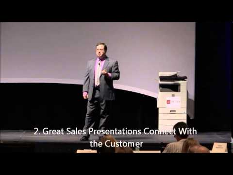 How To Sell Business to Business: Three Characteristics of Great Sales Presentations