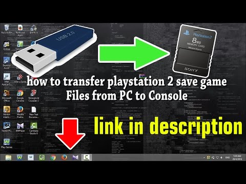 How To Transfer Playstation 2 Save Game Files from PC to Console