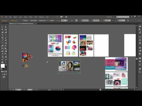 Import a multiple page PDF in Illustrator