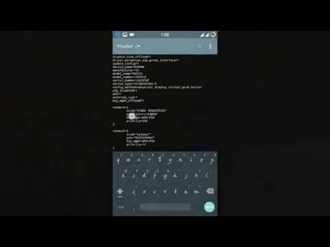 CHECK saved wifi passwords using terminal emulator on android