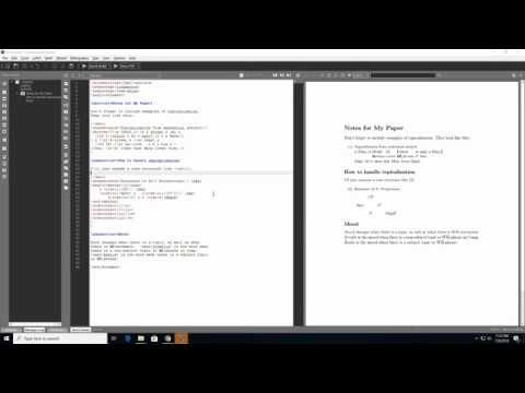How to Get Started with Latex on Windows 10 Texmaker MiKTeX
