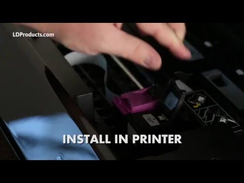 How to Install A Remanufactured HP Ink Cartridge