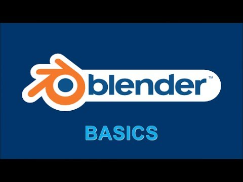 Blender Basics - How to zoom in or out
