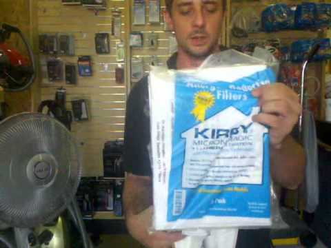 Kirby Sentria Style F Vacuum Bags How To Install - Part 204808