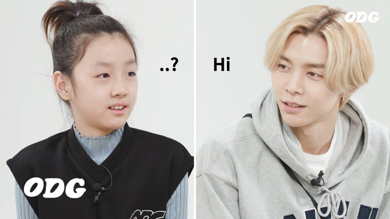 외국인 아이돌을 만난 아이가 하는 말 (Feat. NCT)