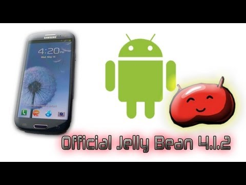 How To Install Official 4.1.2 Jelly Bean Update On Samsung Galaxy S3