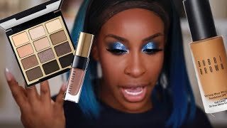 GLOSSY Eyes + Lips! Can She Pull It Off Though?! Hmmm  | Jackie Aina