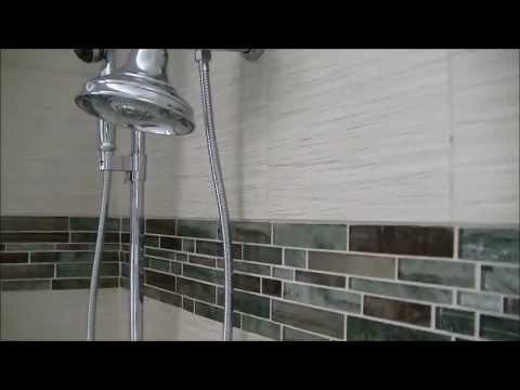 Porcelain Tile on ENTIRE Bathroom
