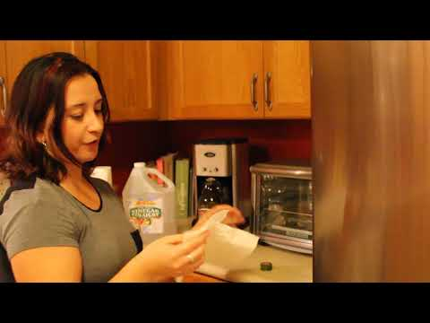 How to clean stainless steel appliances without chemicals