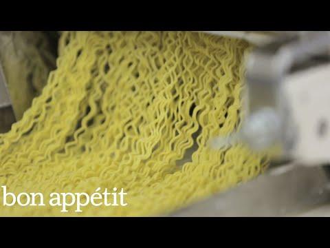 How Ramen Noodles Are Made: Inside a Ramen Factory | Bon Appétit