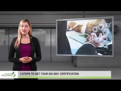 Three steps to get your ISO 9001 Certification