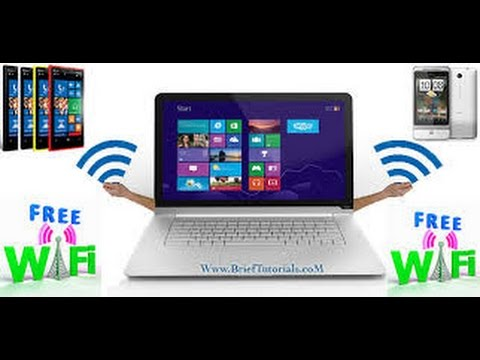 Convert Your PC Laptop into a Free WiFi Hotspot (XP, Win 7 & 8)
