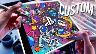 EPIC CUSTOM SPACE PS4 !! 🚀🎨 (Satisfying)