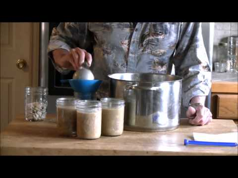 Canning Lima Beans