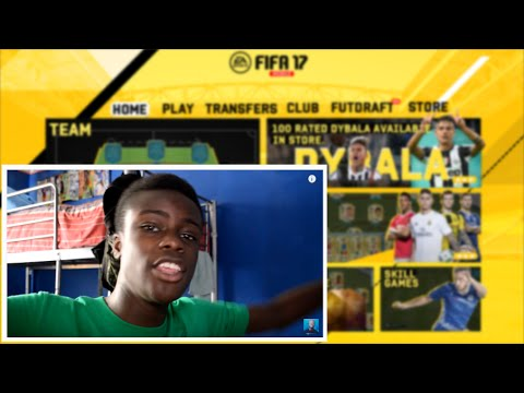 FIFA 17 MOBILE INTERFACE !!!