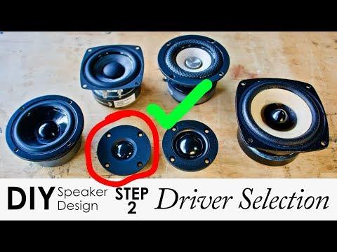 DIY Speaker Driver Selection In 7 Steps || Step 2 -