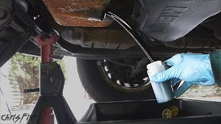 What does a 300,000 mile oil change look like?