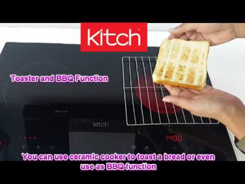 Kitch by SENZ - KC-RI320 2 in 1 Induction + Ceramic Electric Cooker