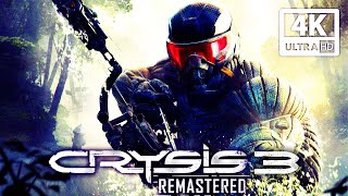 CRYSIS 3 REMASTERED All Cutscenes (Game Movie) 4K 60FPS Ultra HD