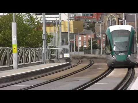 Nottingham Trams  South from the Station   Aug 2015
