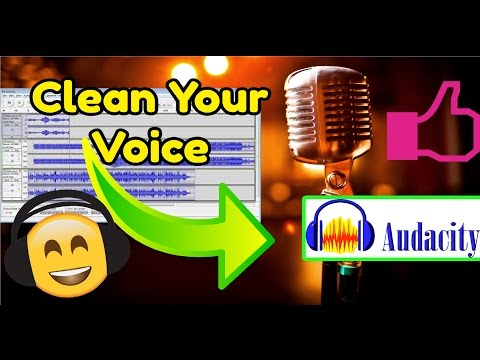 How to clean up your voice with Audacity