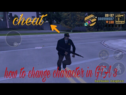 👍How To Change Character In GTA III