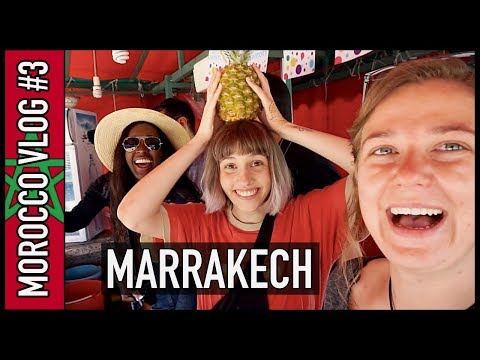 MARRAKECH IS ABSOLUTELY AMAZING!! | Morocco Travel Vlog #3