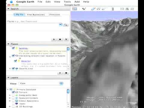 Creating Folders and Saving Files in Google Earth