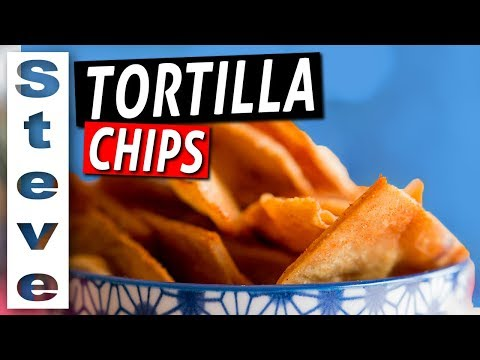 HOW TO MAKE TORTILLA CHIPS with Masa