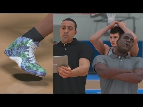 NBA 2K18 My Career - Signature Shoe Commercial! PS4 Pro 4K Gameplay